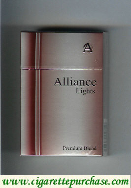 Alliance red cigarettes