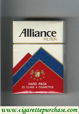 Alliance filyer cigarettes