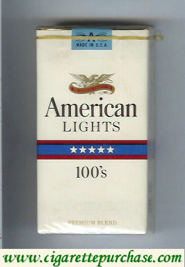 American Lights 100s cigarettes USA