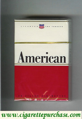 American king size cigarettes french version