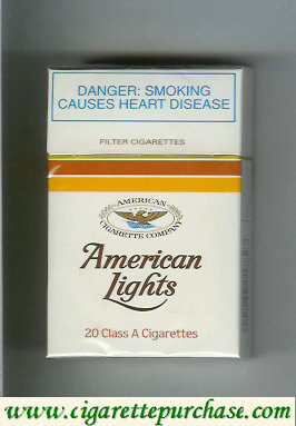 American Lights cigarettes South Africa