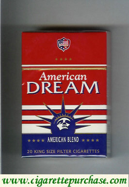 American Dream Cigarettes American Blend