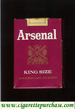 Arsenal American Blend cigarettes