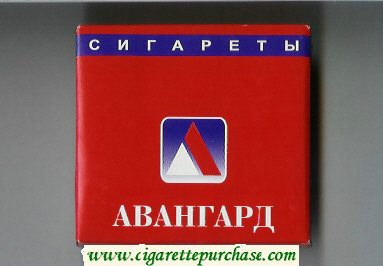Avangard red cigarettes