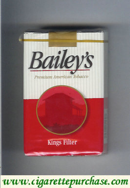 Bailey's Filter Cigarettes