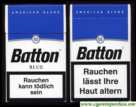Batton Blue cigarettes American Blend