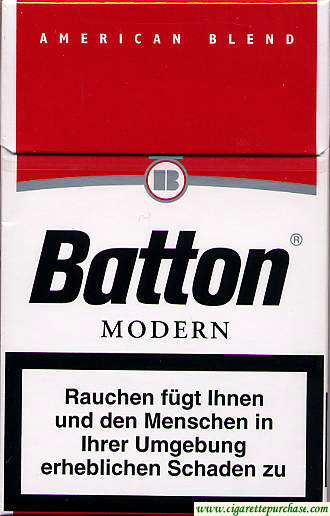 Batton Modern cigarettes American Blend