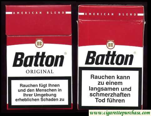 Batton Original cigarettes American Blend