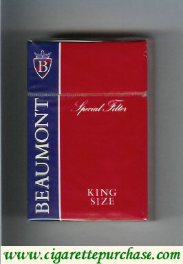 Beaumont cigarettes Special Filter