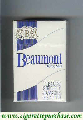 Beaumont cigarettes king size