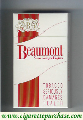 Beaumont cigarettes superkings lights