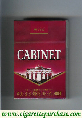 Cabinet Mild Berlin cigarettes collection version