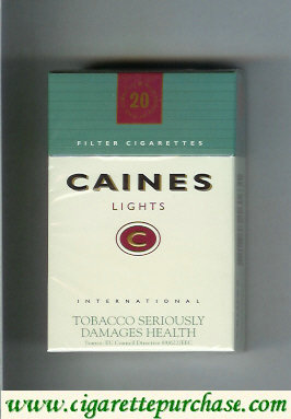 Caines Lights cigarettes denmark