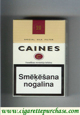 Caines Smooth Taste cigarettes