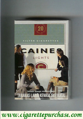 Caines cigarettes Lights collection version