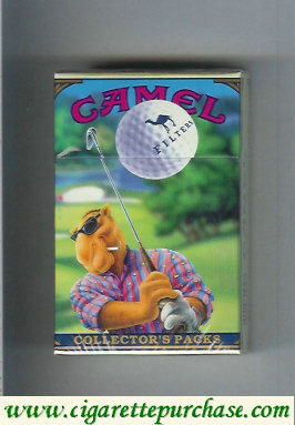 Discount Camel Collectors Packs 4 Filters cigarettes hard box