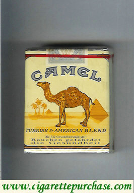 Camel Turkish American Blend cigarettes soft box