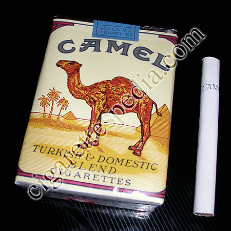 Camel Turkish and Domestic Blend cigarettes soft box