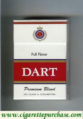 Dart Premium Blend Full Flavor cigarettes hard box