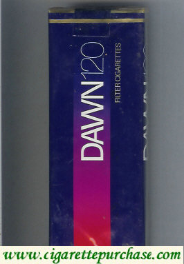Dawn 120s Filter cigarettes soft box