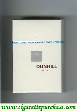 Dunhill D Infinite cigarettes hard box