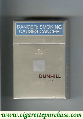 Dunhill D Ultra cigarettes hard box