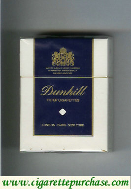 Dunhill Filter Cigarettes Short cigarettes hard box