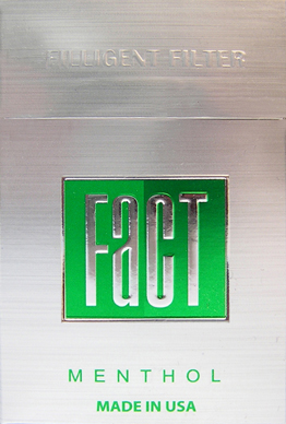 Fact Menthol cigarettes soft box