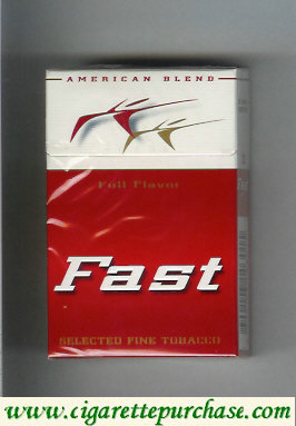 Fast Full Flavor American Blend cigarettes hard box