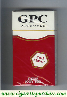 GPC Approved Full Flavor Filters 100s Box Cigarettes hard box