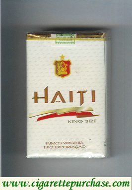 Haiti King Size cigarettes soft box