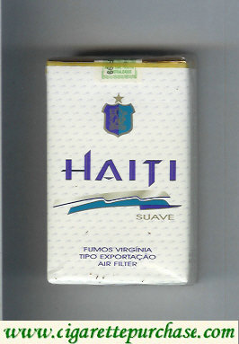 Haiti Suave cigarettes soft box
