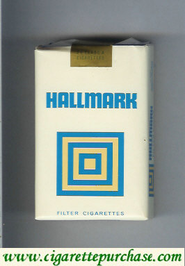 Hallmark Filter cigarettes soft box