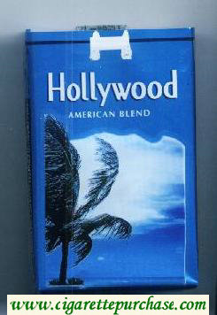 Hollywood American Blend cigarettes soft box