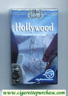 Hollywood American Blend Experience Pack cigarettes soft box