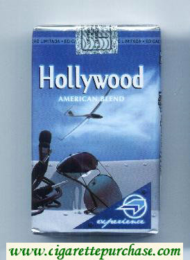 Hollywood American Blend Experience Pack soft box cigarettes