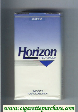 Horizon Fresh Aroma Smooth Tobacco Flavor 100s cigarettes soft box