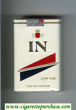 In Low Tar cigarettes soft box