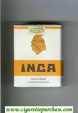 Inca cigarettes soft box