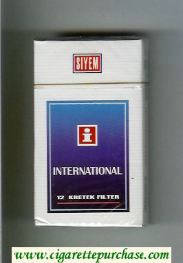 International I Siyem 90s cigarettes hard box