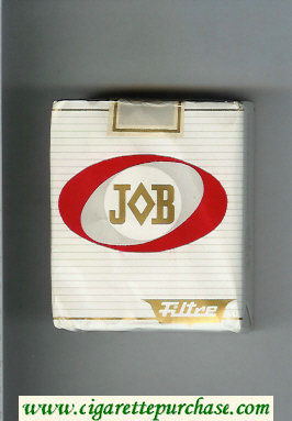 JOB Filtre white and red cigarettes soft box