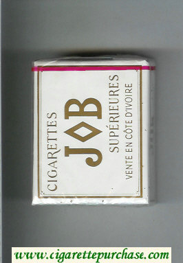 JOB Superieures white cigarettes soft box