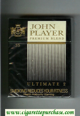 John Player Premium Blend Ultimate 2 35s cigarettes hard box