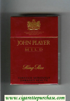 John Player Mild cigarettes hard box