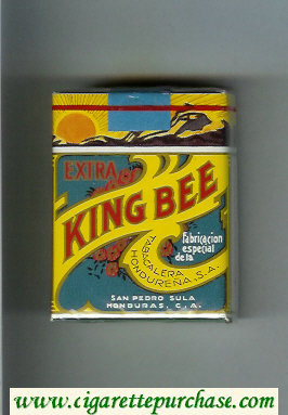 King Bee Extra cigarettes soft box