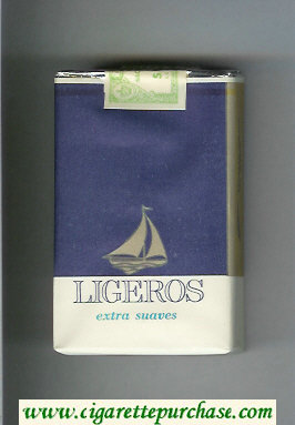 Ligeros Extra Suaves cigarettes soft box