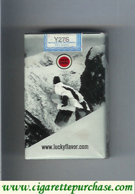 Lucky Strike cigarettes Snowpacks soft box