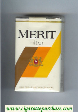 Merit Filter cigarettes soft box