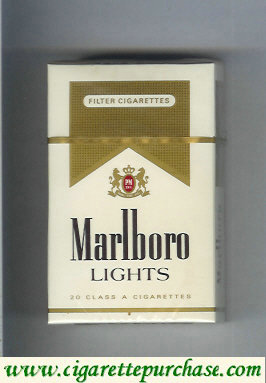 Discount Marlboro Lights cigarettes hard box