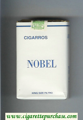 Nobel Cigarros cigarettes soft box